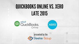 QuickBooks Online vs Xero - Late 2015