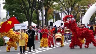 第46回堺まつり大パレード 在大阪ベトナムコミュニティーとベトナム総領事館(2019年10月20日)