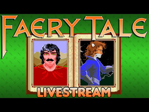 The Faery Tale Adventure (Amiga) - Livestream: Part 1 - Octotiggy