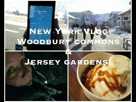 New York Vlog Day 4 & 5 - Woodbury Commons & Jersey Gardens! Lovely Girlie Bits