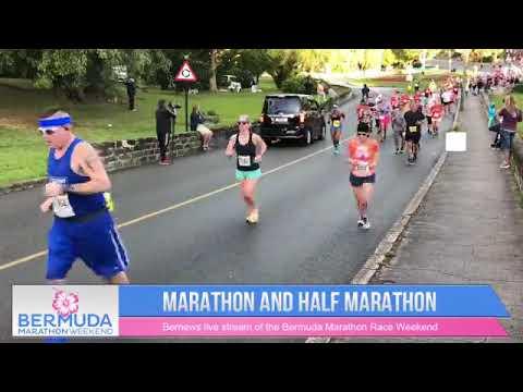 Start Of Bermuda Marathon & Half-Marathon, Jan 20 2019
