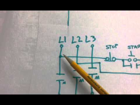 24v Starter Relay Wiring Diagram How To Read Electrical Control Diagrams Motor Circuit - Youtube