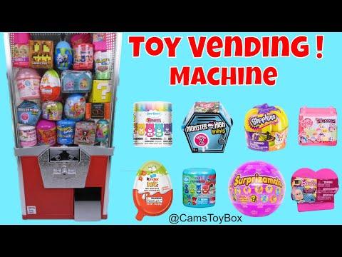 Toy Vending Machine Surprises Care Bears...