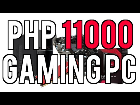 11000 Philippine Pesos Casual Gaming PC Build December 2015 720p Low - Max Settings 60 FPS
