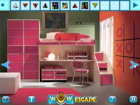 Red Painting Room Escape Walkthrough