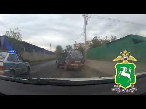 Погоня со стрельбой в центре Томска