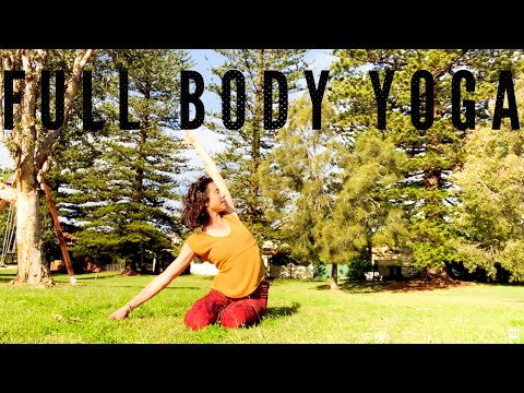 Full Body Yoga - 30 min Total Body Deep Stretch Flow from YouTube · Duration:  27 minutes 23 seconds