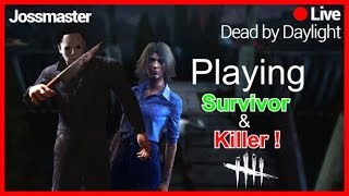 🔪DBD ON PC 🔪THANK YOU FOR 2.5K :D NOW LETS GET TO RANK 1🔪