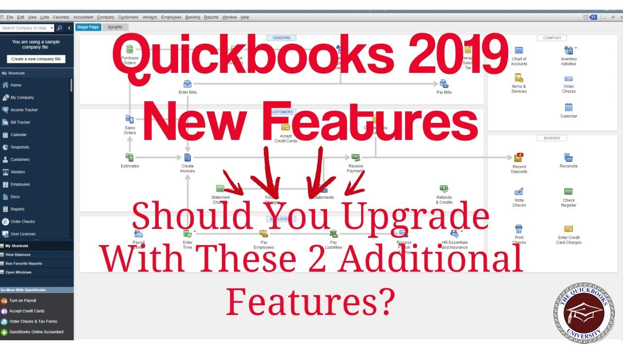 Quickbooks 2019 New Features - Should You Upgrade to Quickbooks 2019?