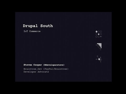 Drupal and IoT Commerce