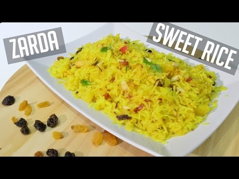 How to Make Zarda Recipe (Indian Sweet Rice) Indian Cooking Recipes | Cook with Anisa