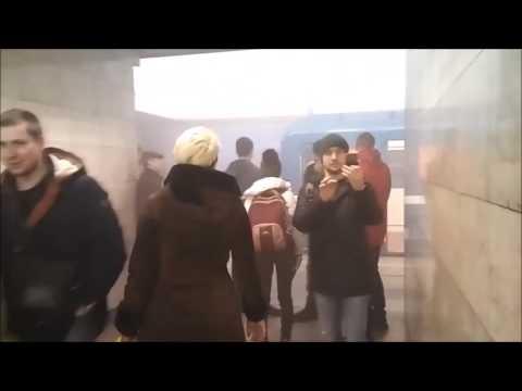 Теракт Взрыв в метро Санкт-Петербург Станция технологический университет