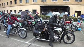 川口オートレース場 クラッシックバイクミーティング(2011年10月9日)