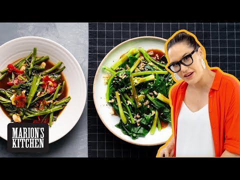 How to Cook Classic Asian Greens - Thai vs Chinese - Marion's Kitchen