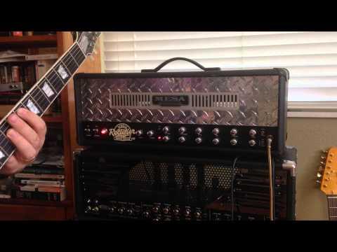 """Modern"" Single Rectifier Mesa Boogie Demo, HD high quality audio"