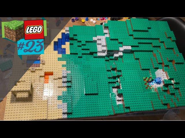LEGO® X Minecraft World #23 - Eine letzte Schlucht!