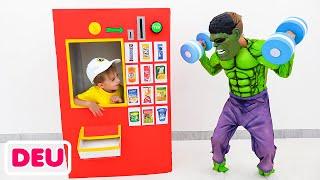 Vlad und Nikita - Eine Geschichte über die Superhelden aus dem Verkaufsautomaten für Kinderspielzeug