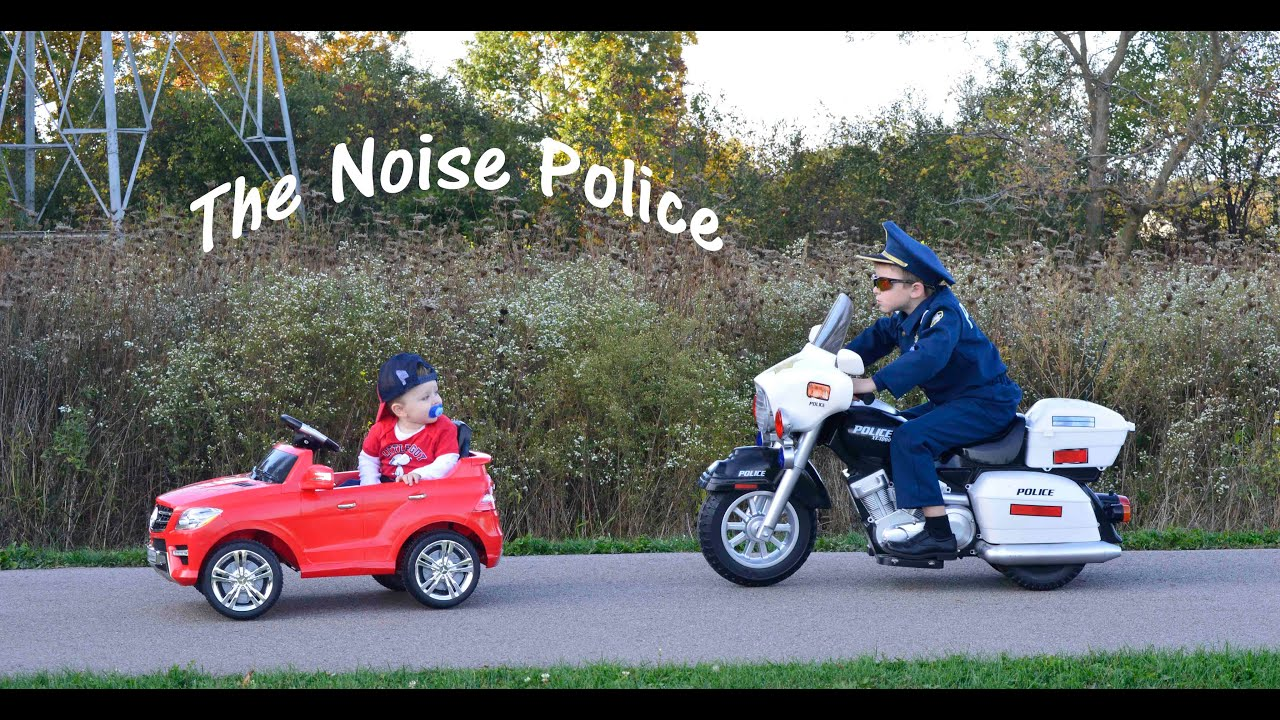 KIDZ MOTORZ Police Motorcycle Little Heroes Kid Cops The Noise ...