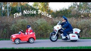 KIDZ MOTORZ Police Motorcycle Little Heroes Kid Cops The Noise Police Video Parody