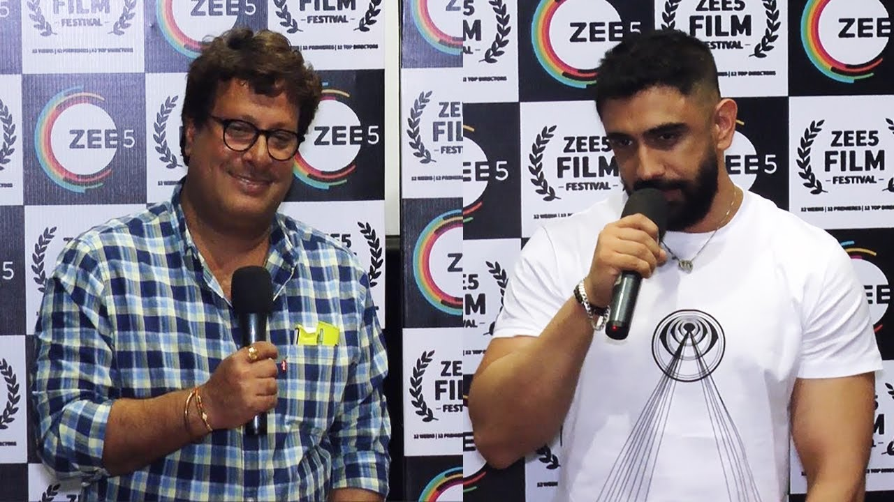 Download Amit Sadh and Tigmanshu Dhulia At The Special Screening Of Short Film Baarish Aur Chowmein