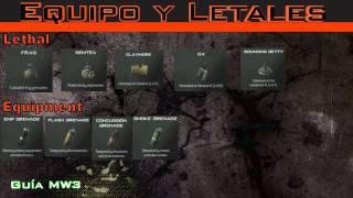AZTECA | Guía de MW3 Ep.9 Equipo y Letales | AztecaHD
