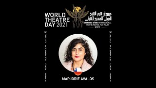 Marjorie avalos - chile - SITFY 2021 - International theatre Day