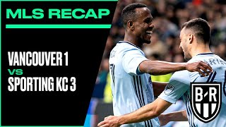 Vancouver 1-3 Sporting KC: 2020 MLS Recap with Goals, Highlights and Best Moments