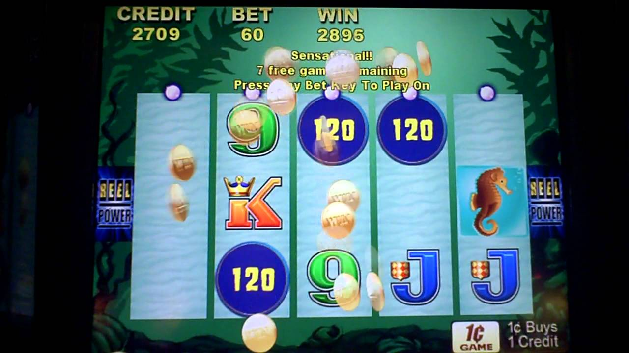 Queen Of Atlantis Slot Machine