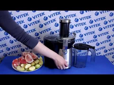 """Рецепт приготовления """"розового"""" сока в соковыжималке VITEK VT-1636 ST"""