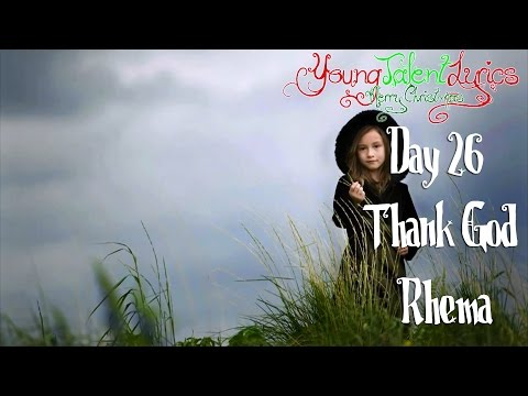 Rhema Marvanne ★ Thank God (Day 26)