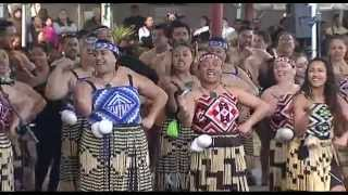 Tainui Senior Kapa Haka mass performance compilation