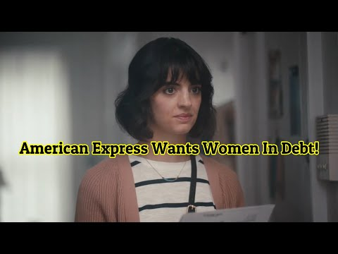 American Express Green Card Commercial Shows The Ladies How Great Credit Card Debt Is!
