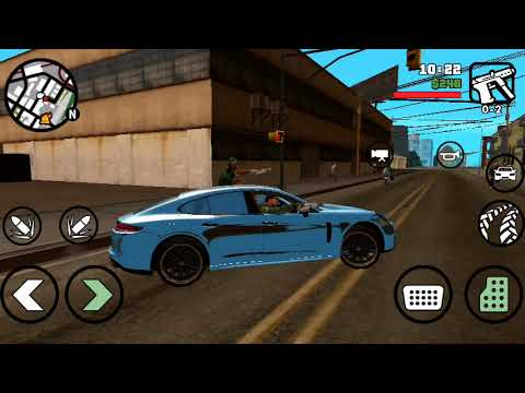Grand Theft Auto San Andreas Gameplay Android Part #5 Mission Drive-thru