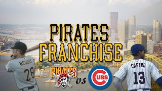 MLB 14 The Show Broadcast: Pittsburgh Pirates Franchise vs Cubs [Ep. 26] - Opening Day 2015!