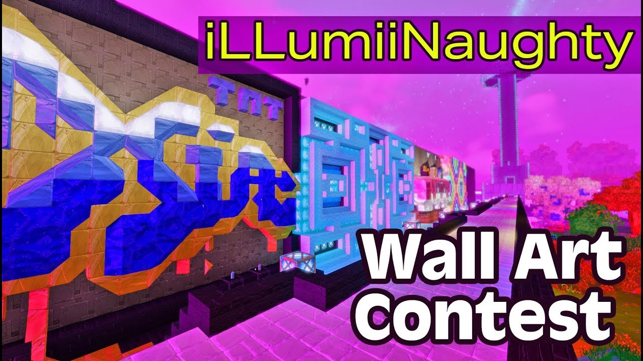 iLLumiNaughty Wall Art Contest (a player hosted event in Boundless)