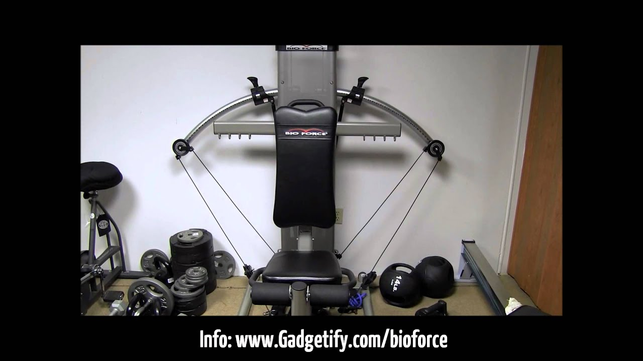 Bio force pro gym review short version youtube
