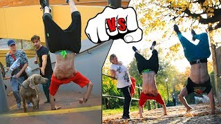 GAME OF HANDSTAND #1 | DOMINIK VS. TARY