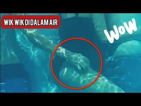 Ketahuan Wikwik di dalam air | Cctv | Viral !