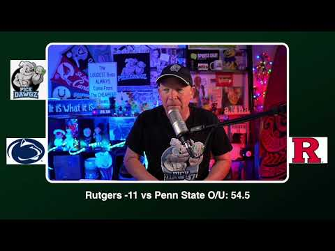 Penn State vs Rutgers 12/5/20 Free College Football Picks and Predictions CFB Tips
