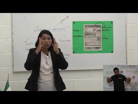 3º y 4º clase: 104 Tema: El periódico