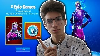 HOW TO GET A * GALAXY SKIN * IN FORTNITE FOR FREE!?