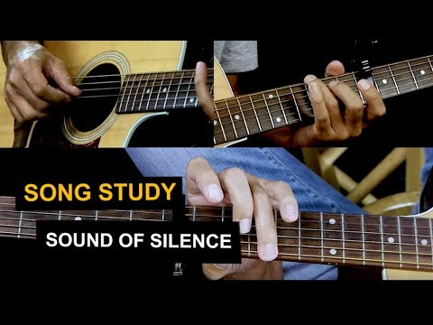 How To Play Sound of Silence on Guitar - Fingerstyle Simon and Garfunkel