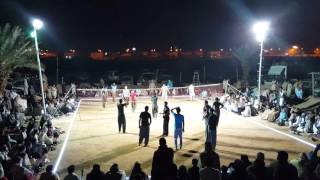 Shooting volleyball show match Saudi arabia part2