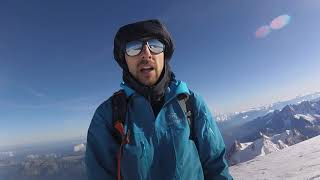 Mont blanc Solo Speed Ascent - Gouter Route