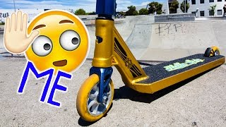 WHO WOULD RIDE THIS SCOOT?