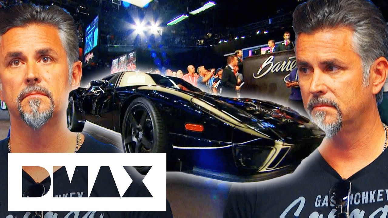 Richard Rawlings Loses Over $70,000 Selling His Ford GT At Auction! | Fast N' Loud