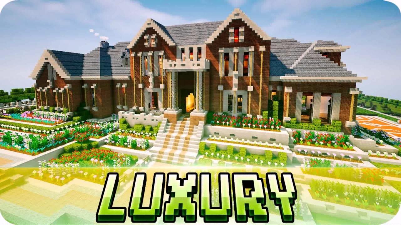 Modern House Minecraft Map 1 7 10 YouTube