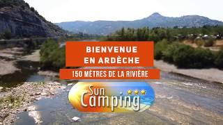 Camping Ardeche le Sun à Sampzon