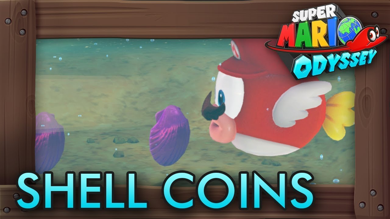 Super Mario Odyssey All Purple Shell Coins Seaside Kingdom