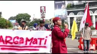Aksi Damai 15/05/2107 (Tugu Kujang Bogor) Menolak Organisasi anti Pancasila. PMKRI Bogor